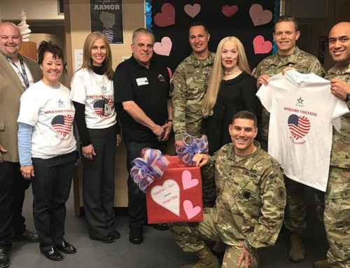 "TSF Supports Operation Valentine: ""Be My Veteran"" Student Writing Project"