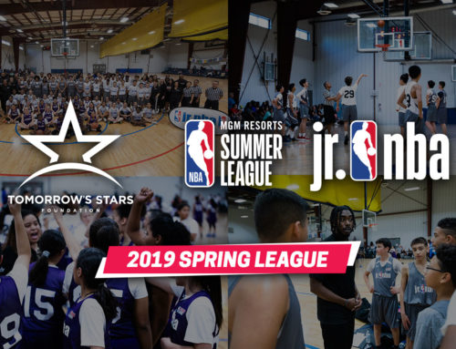 Tomorrow's Stars Launches Year 3 of Summer League Jr. NBA