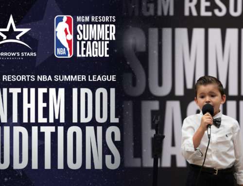 Incredible Talent Showcased at NBA Summer League Anthem Idol Auditions