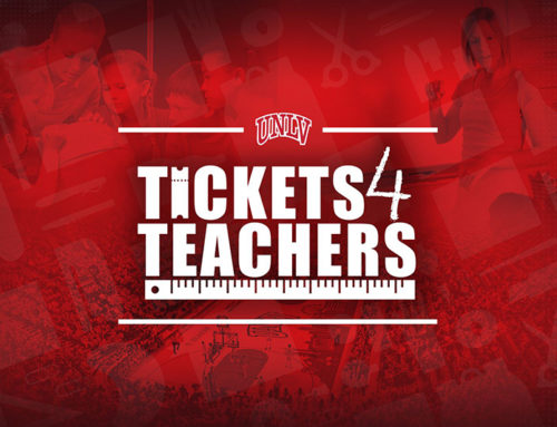 UNLV Athletics Announces Return of Runnin' Rebel  Tickets for Teachers Program
