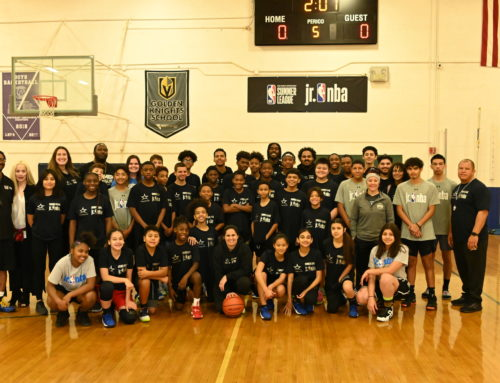 Adopt-A-School Program Hosts Holiday Basketball Camp With Over 50 Students!
